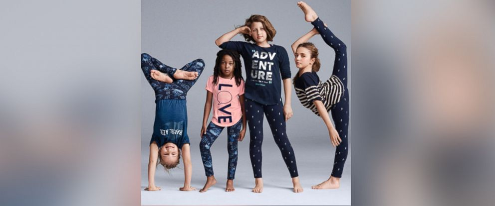 "PHOTO:The pulled ad for Gap Kids featured a youth cirque company called ""Le PeTiT CiRqUe."""