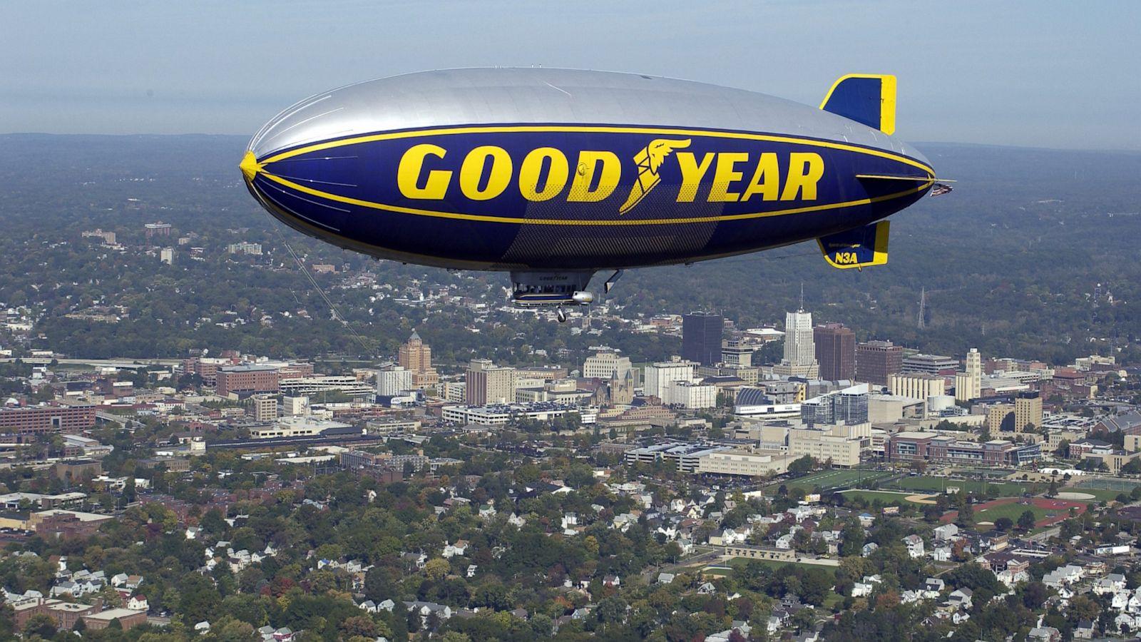f963e3be509 Goodyear: Goodbye Blimp Hello Zeppelin - ABC News