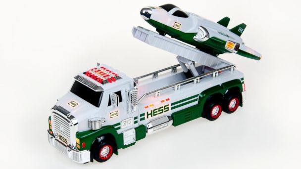 PHOTO: In 1964, Leon Hess, founder of Hess Oil, began offering toy trucks as a thank you to loyal customers.