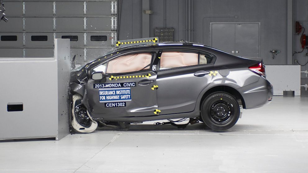 Small Cars Tested for Safety: Half Rank Good or Acceptable - ABC News