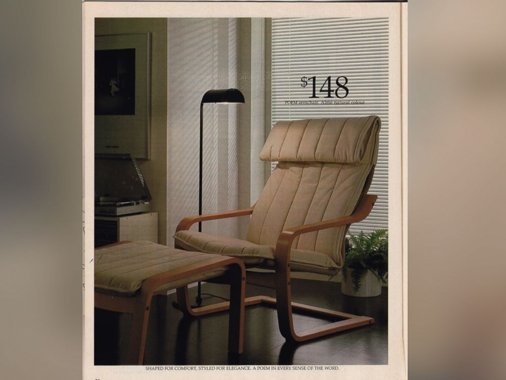 PHOTO: The POÄNG chair is now $69. Ikea celebrates its 30th birthday, June 12, 2015.