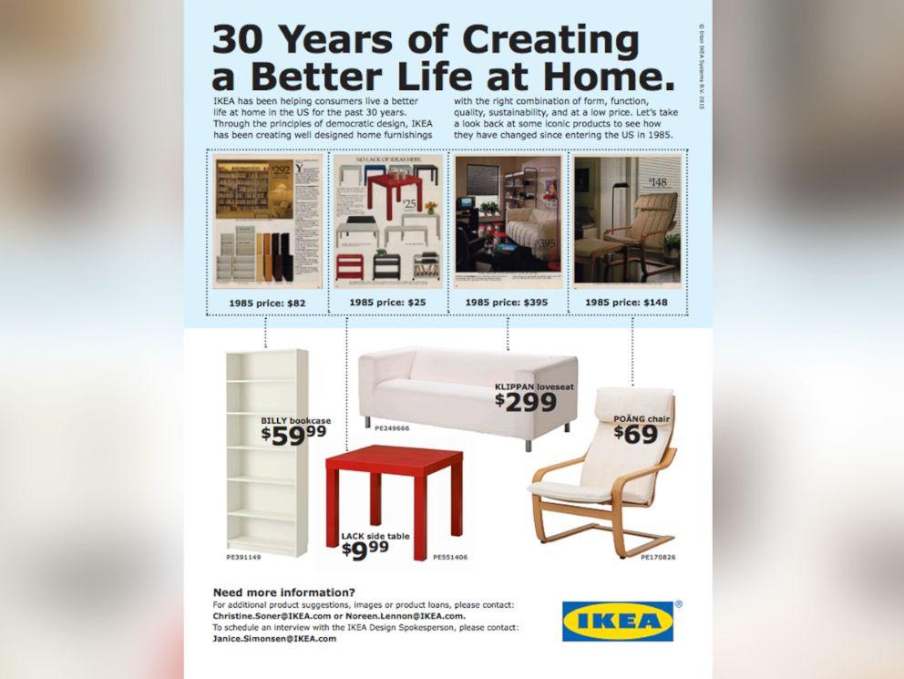 PHOTO: Ikea celebrates its 30th birthday in the U.S., June 12, 2015.