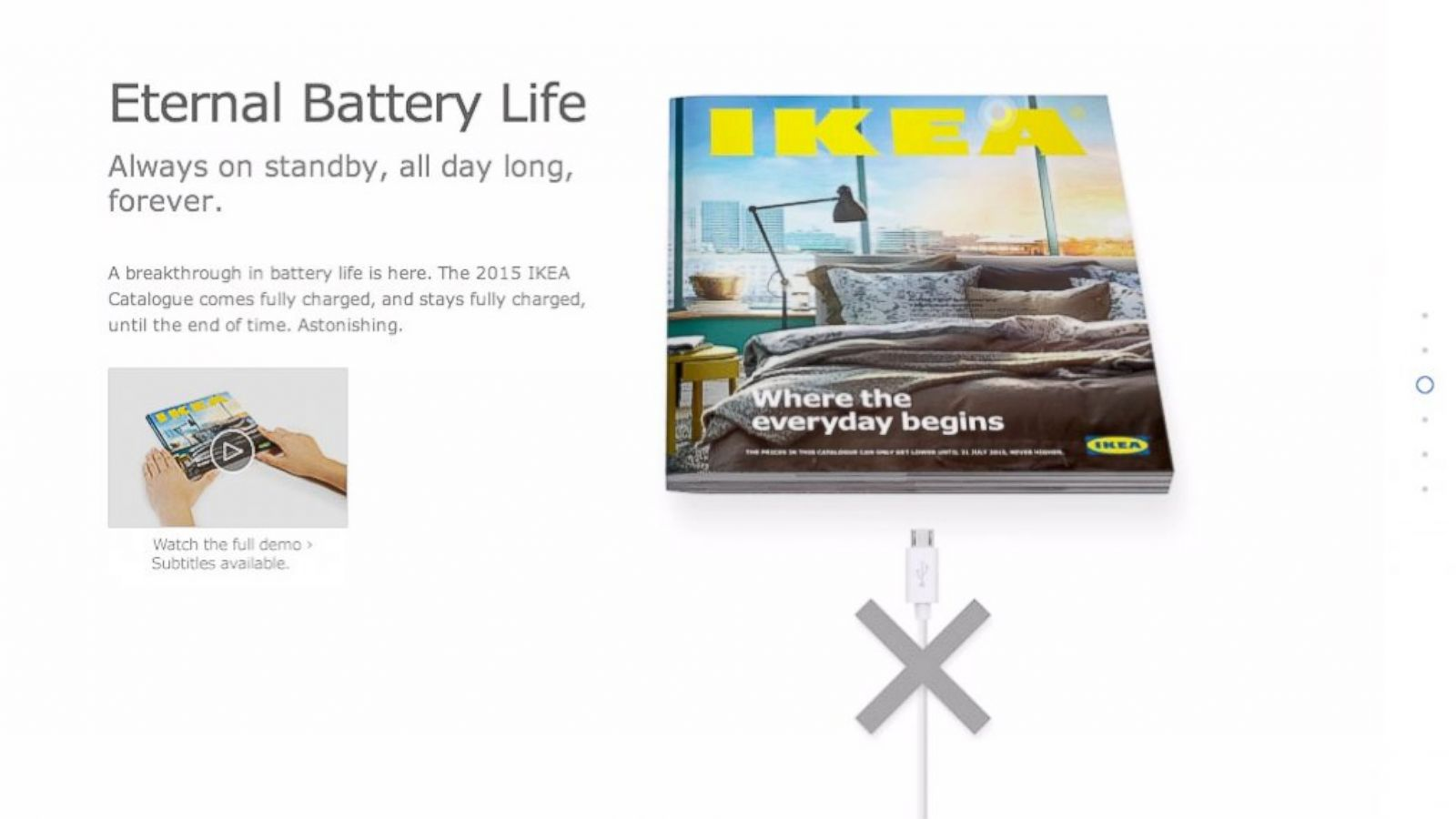 Funny Ikea Commercial for 2015 Catalog Mocks Apple Video - ABC News