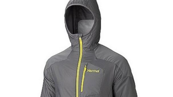 PHOTO: The Marmot Isotherm hooded jacket is shown.