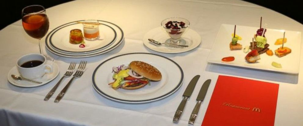 """PHOTO: """"Restaurant M"""" will feature white tablecloths, white cloth napkins and wine glasses."""