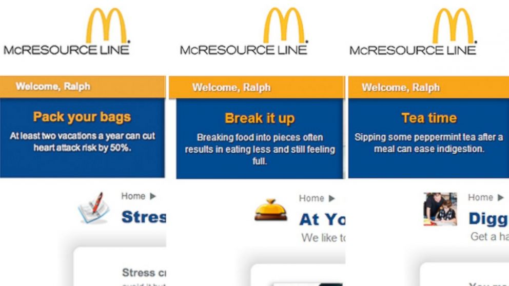 mcdonalds transportation management