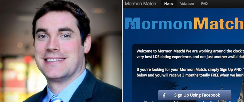 PHOTO: Jonathan Eller, co-founder of Mormon Match, says he is seeking court protection to save his business.