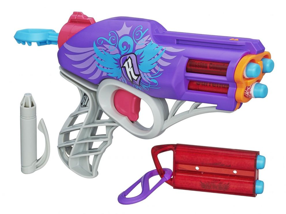 Nerf Toys For Boys : How nerf s new toys for girls compare to the boys abc news