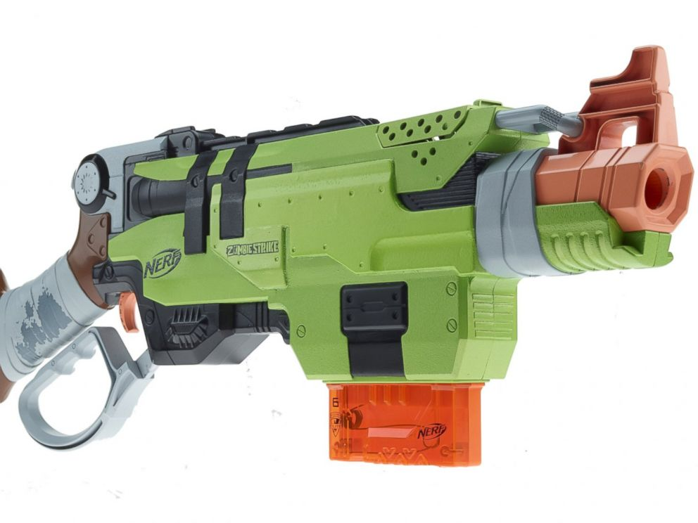 PHOTO: The Nerf Zombie Strike Slingfire blaster.