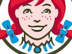 PHOTO: In the new Wendys logo, The word mom can be found in Wendys collar.