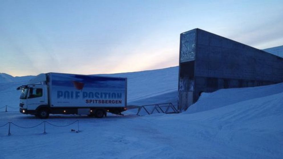 Inside The Doomsday Vault Above The Arctic Circle Abc News