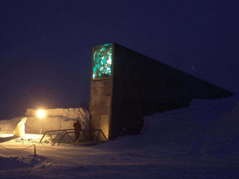 PHOTO: The Svalbard Global Seed Vault, pictured Feb. 26, 2008, in Longyearbyen, Norway.