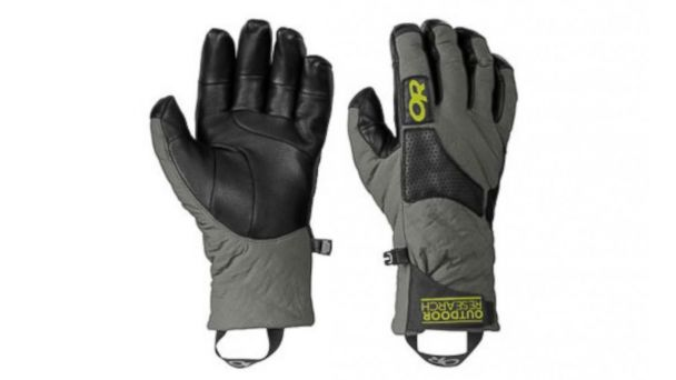 PHOTO: Lodestar gloves by Outdoor research are shown.