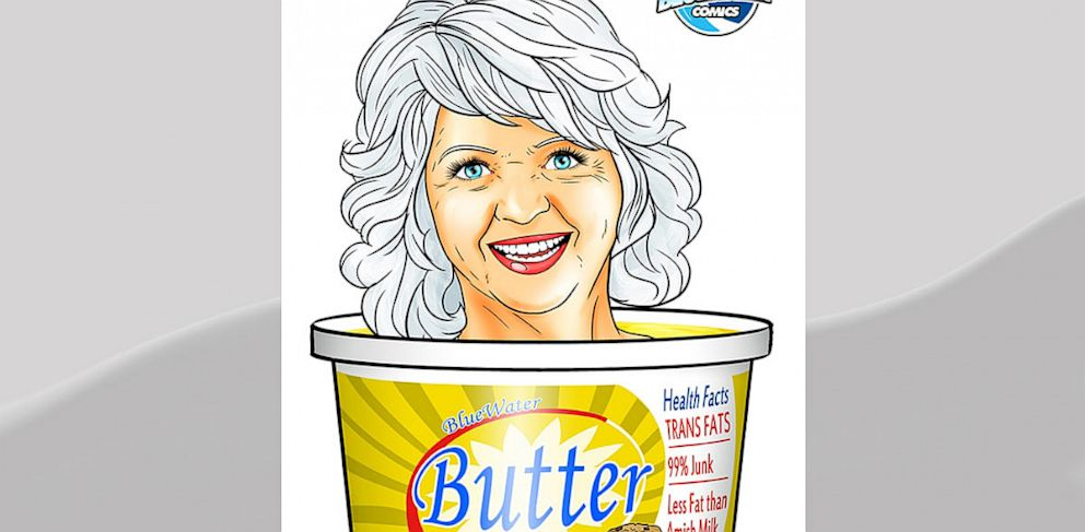 PHOTO: paula deen, comic book, bluewater productions, nathan girten, butter