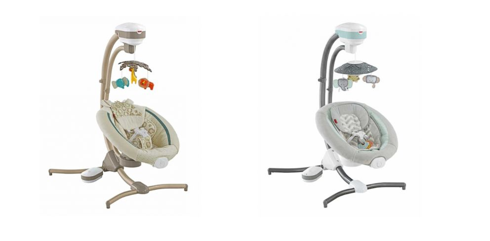 Fisher Price Infant Cradle Swings Recalled Because Of Fall Hazard Abc News