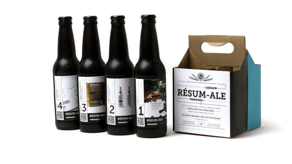 Canadian Man Puts Resume On A 4 Pack Of Craft Beer Lands Job Abc News