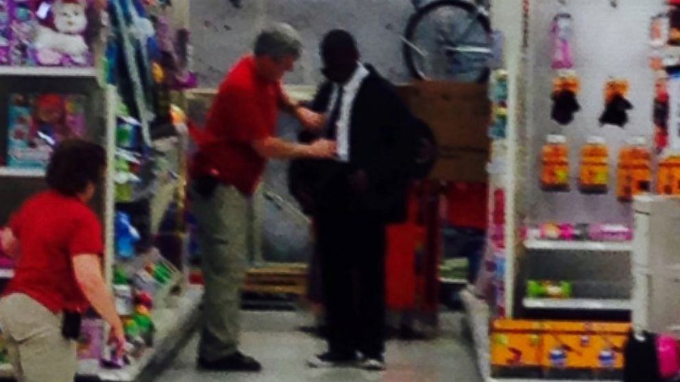 Target workers help a young man prep for job interview.
