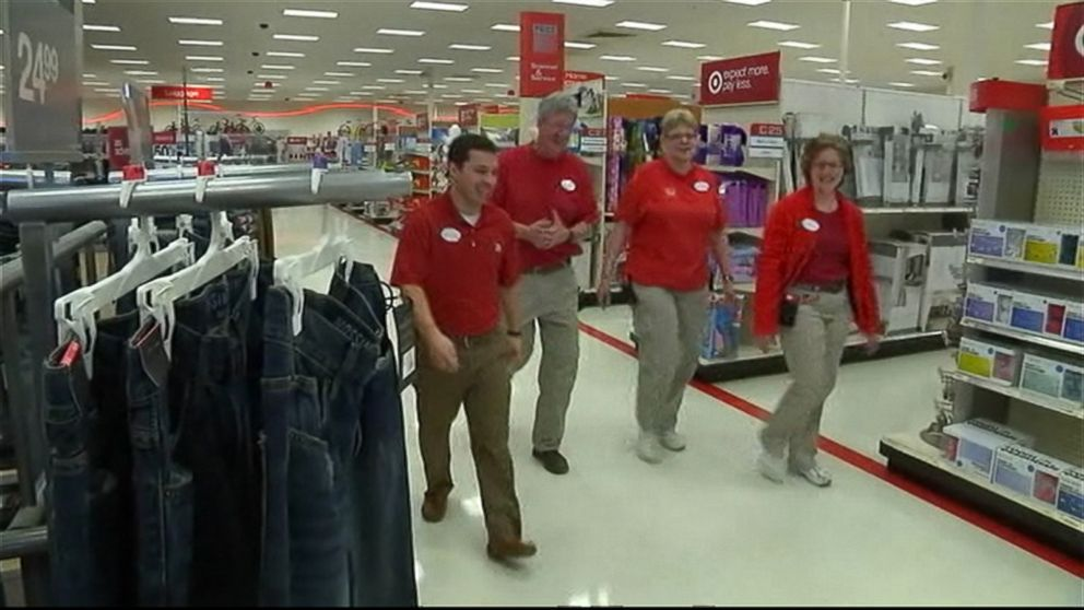 target workers help teen prep for a job interview