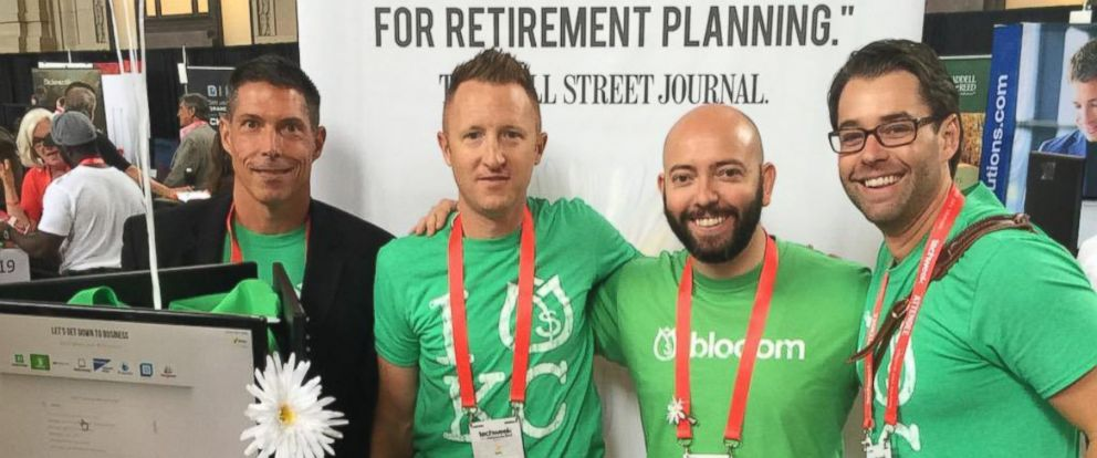 PHOTO: The Blooom team, from left to right: Gerry Hollis (head of business development); Kevin Conard (co-founder and COO); Greg Smith (president); Andrew Wank (business development manager)