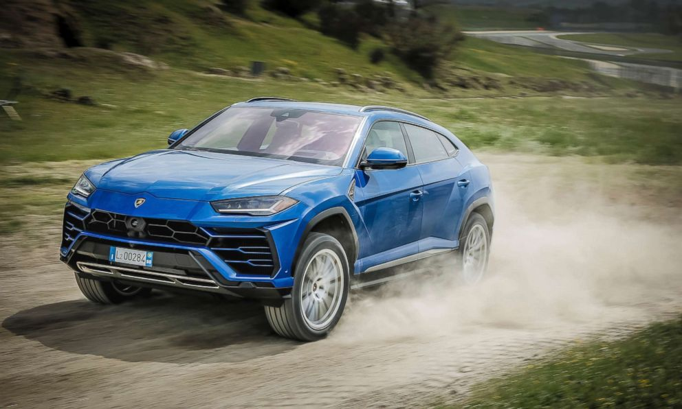 PHOTO: The Lamborghini Urus made its debut in 2018.