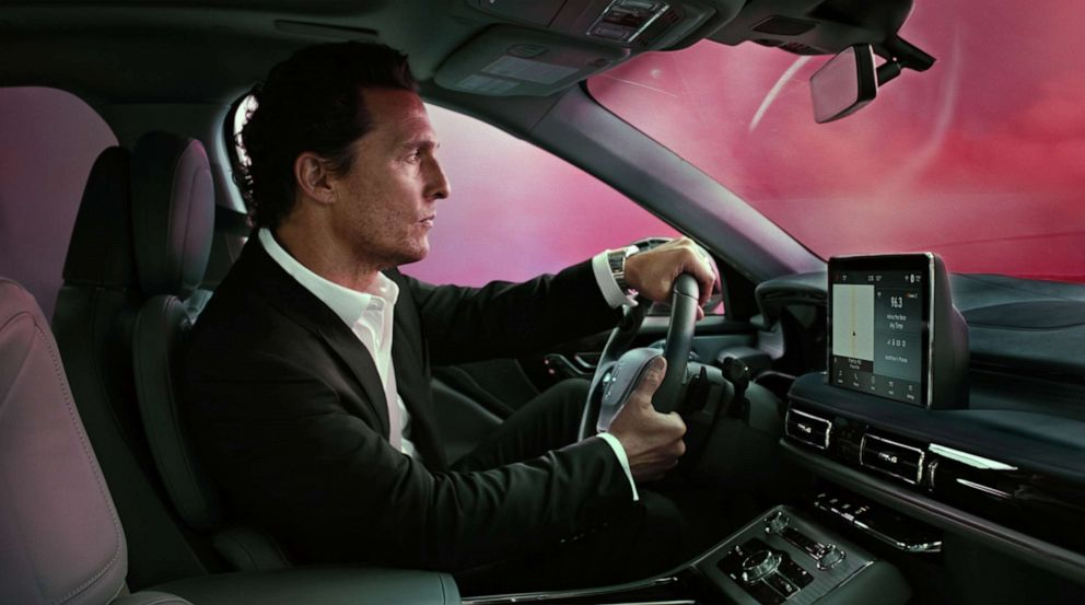 PHOTO: Matthew McConaughey has returned in a series of new ads for the Lincoln Aviator.