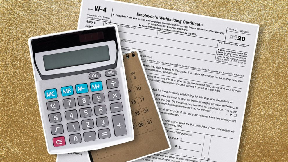 Everything you need to know about the new W-4 tax form