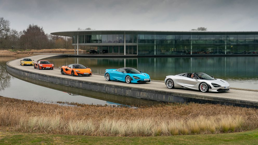 3 days, 950 miles and 5 supercars: My European adventure