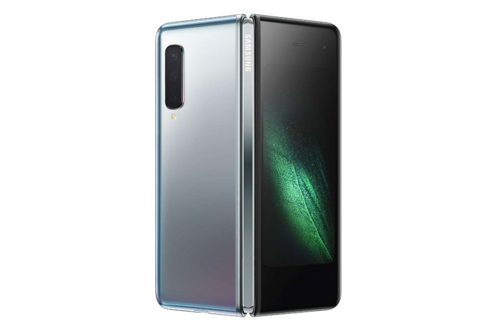 PHOTO: The Samsung Galaxy Fold was unveiled, Feb. 20, 2019.