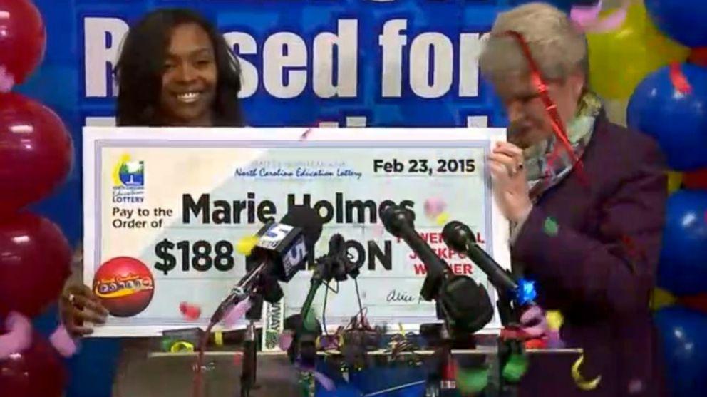 North Carolina Powerball Winner Claims Third Of 564 Million Prize Abc News