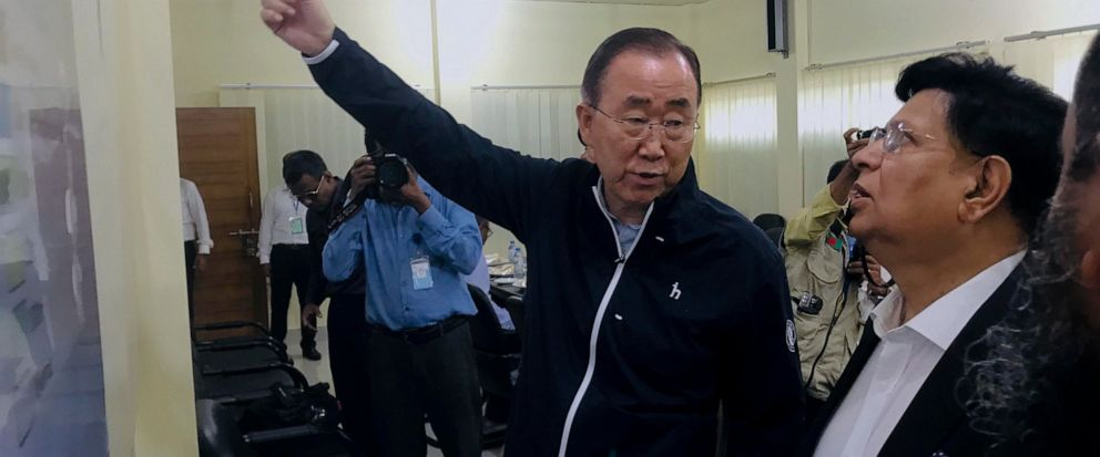 Ban Ki-moon, A.K.Abdul Momen