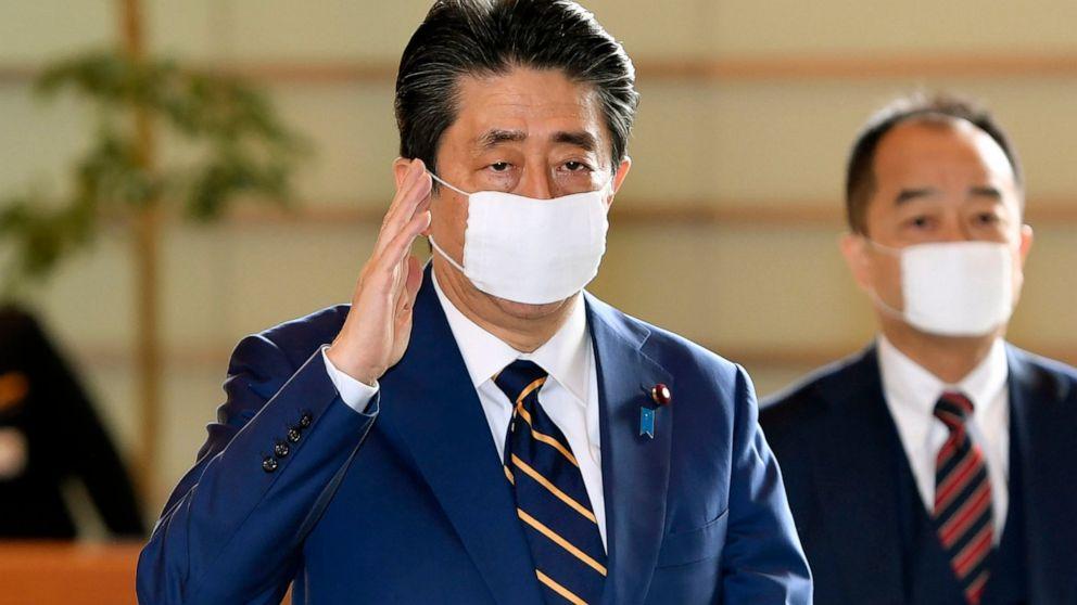 Japan declares state of emergency, ramping up virus battle - ABC News