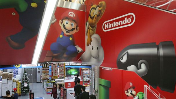 Nintendo profit jumps 39% on Switch software sales