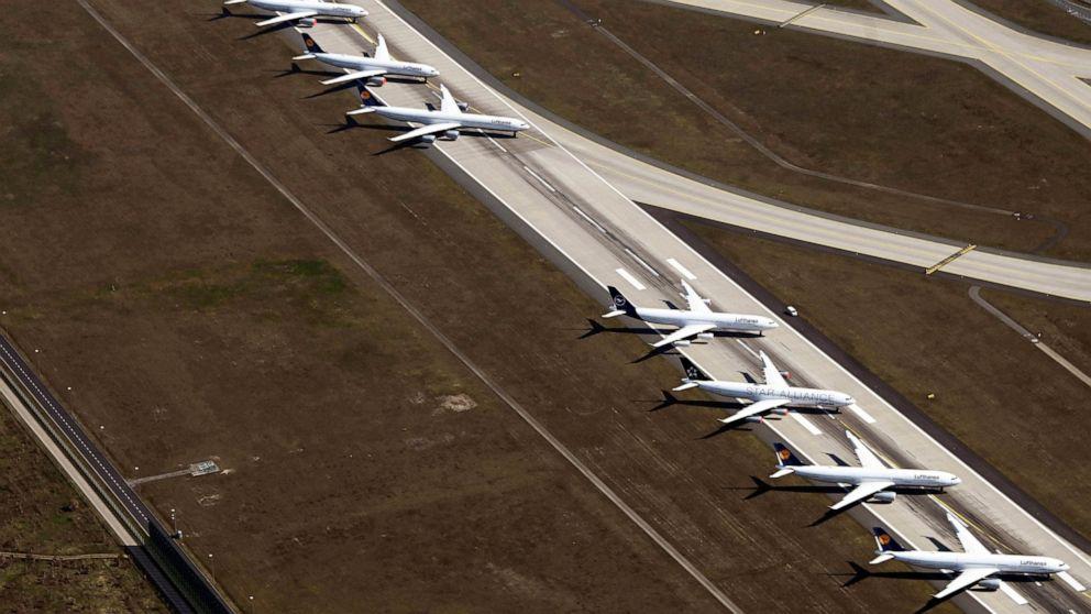 Lufthansa stellt die 27.000 Arbeiter auf kurze Stunden
