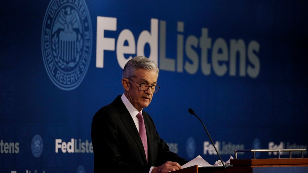 Fed leaves its key rate unchanged but hints of future cuts thumbnail