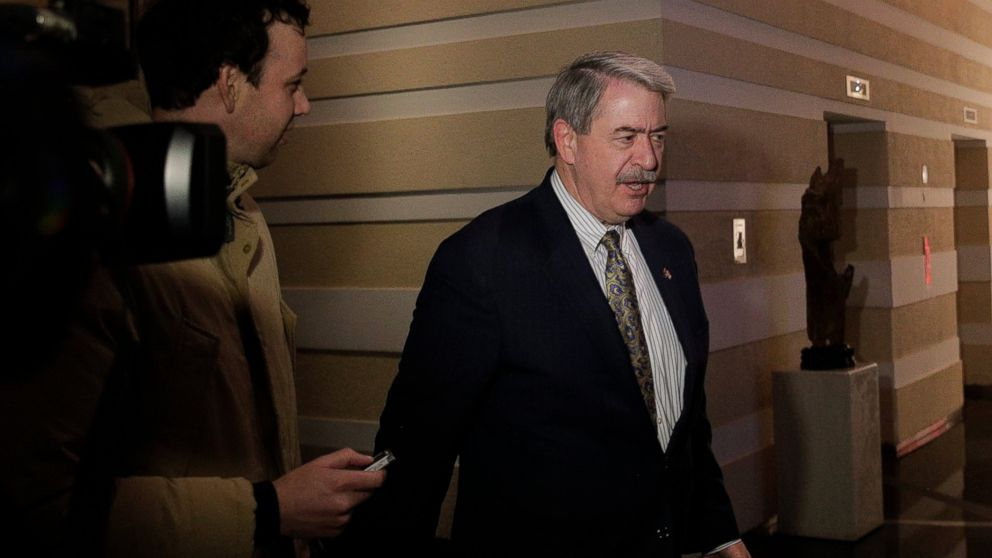 U.S. Undersecretary for Trade and Foreign Agricultural Affairs Ted McKinney is chased by journalists as he walks into a hotel after a second day of meetings with Chinese officials in Beijing, Tuesday, Jan. 8, 2019. An official Chinese newspaper warned Washington not to demand too much from Beijing as talks on ending their tariff war wound up a second day Tuesday with no word on possible progress. (AP Photo/Andy Wong)