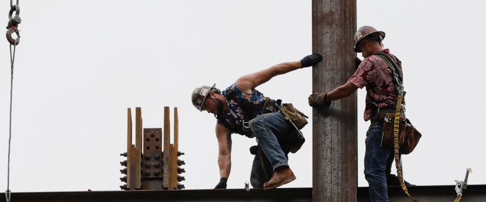 US construction spending rose a slight 0 1% in July - ABC News