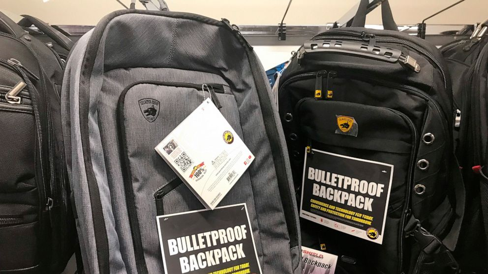 Mass shootings offer rise to bullet-resistant backpacks thumbnail