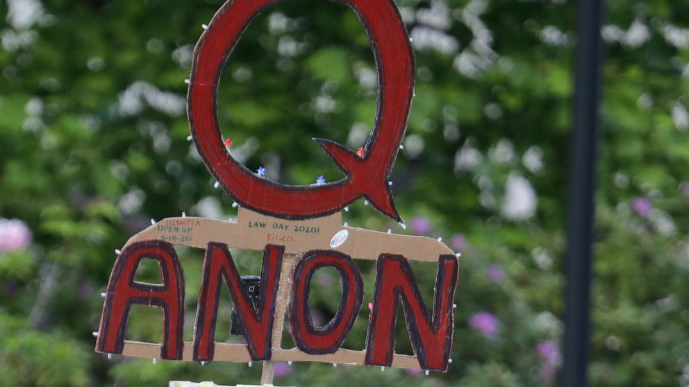 Facebook says it will ban groups that openly support QAnon ...