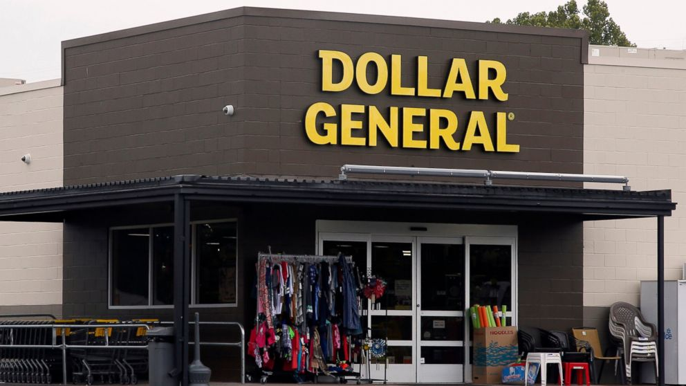 FILE- In this Aug. 3, 2017, file photo the Dollar General store is pictured in Luther, Okla. Dollar General reports financial results Thursday, March 14, 2019. (AP Photo/Sue Ogrocki, File)