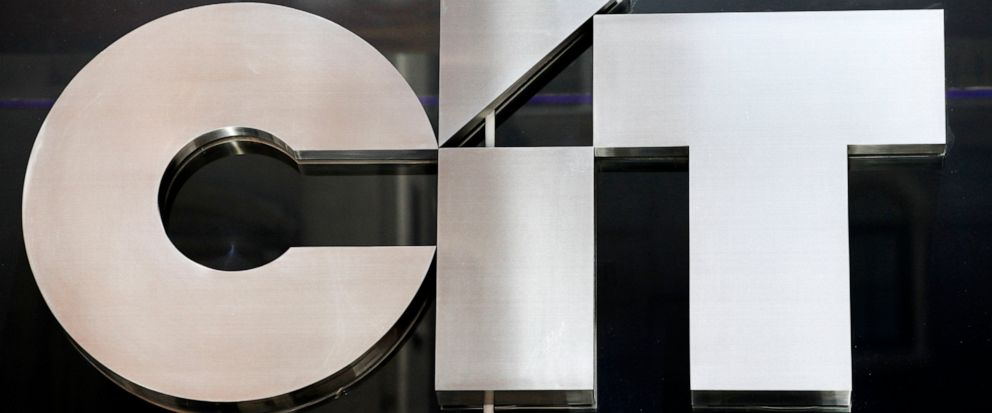 FILE - This June 23, 2010, file photo shows a sign for CIT Group Inc. the commercial and consumer finance company in New York. CIT Group is buying Mutual of Omaha Bank for $1 billion to expand its commercial banking operations. (AP Photo/Mark Lenniha