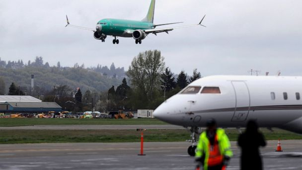 Boeing CEO raises possibility of pausing Max production