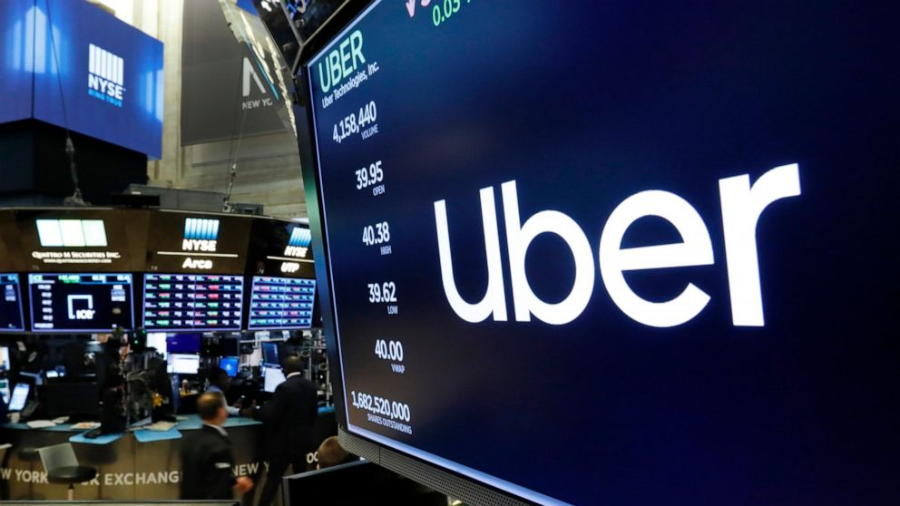 Who is the broker for uber ipo