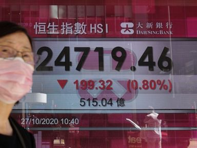 World shares slip after Wall St's worst day in a month