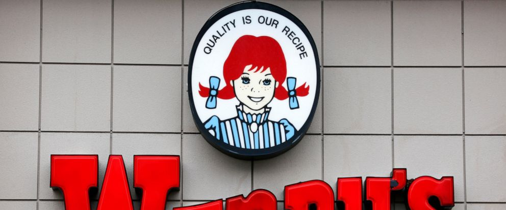 FILE- This Feb. 23, 2018, file photo shows a Wendys restaurant in Pittsburgh. Wendy's said Monday, Sept. 10, 2019 it's relaunching breakfast across the U.S. next year, the latest fast-food chain to amp up its offerings as more consumers eat out in t