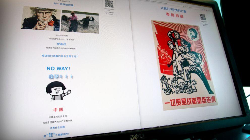 China voices strength, pushes nationalism around trade war