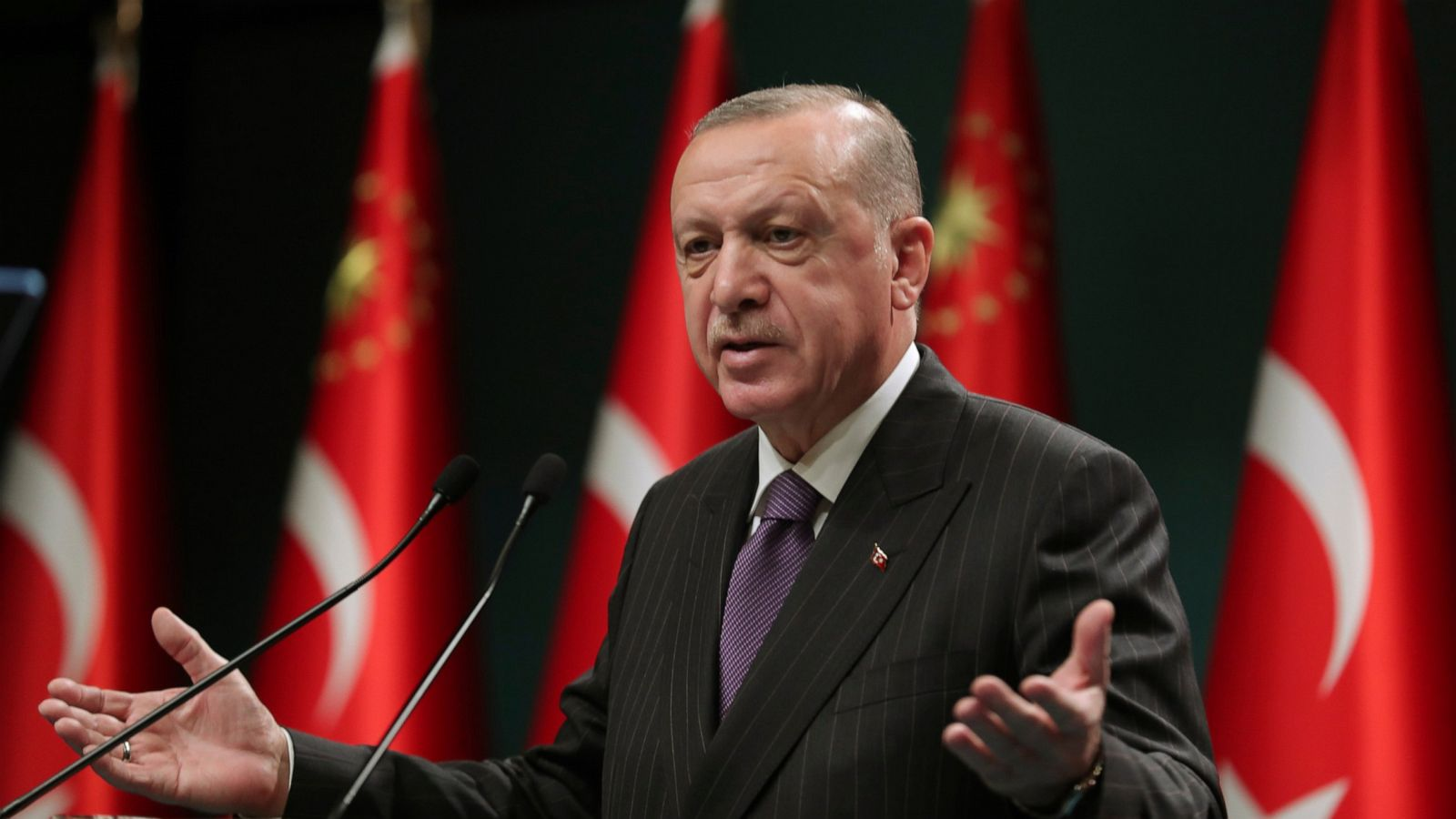 Turkey announces 4-day curfew over New Year's to fight virus - ABC News