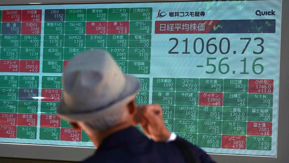 Asian shares mixed as investors look ahead to Fed rates