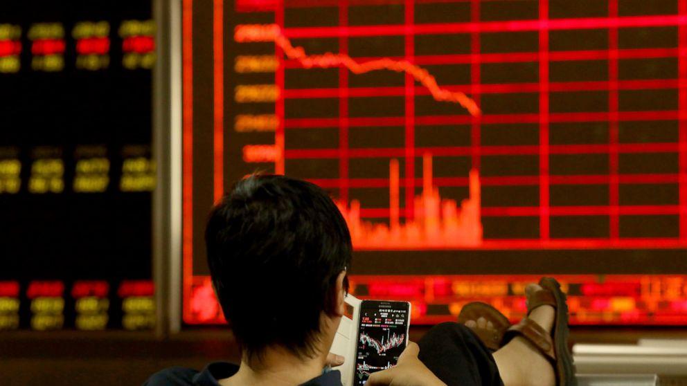 Asian stocks sink ahead of Trump-Xi meeting at G-20 summit