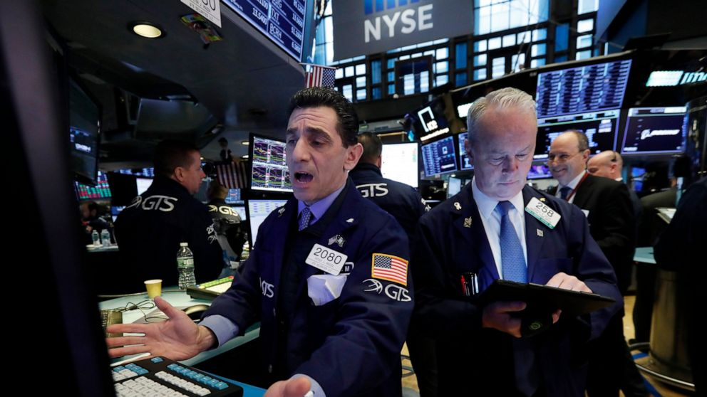 Markets Right Now: Stocks open lower on trade war anxiety