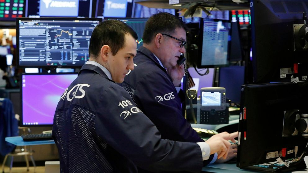 株式開高いニューヨーク、ウォール街での7日間の路